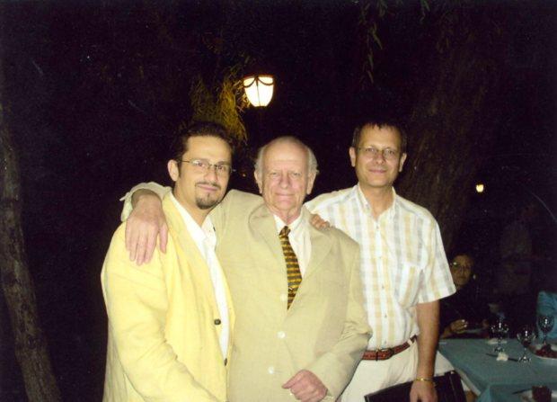 Ben, babam, ve Osman- 20 Ağustos 2005, babamın doğum gününde Ankara Tenis Klüpde